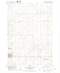 Eureka East South Dakota Historical topographic map, 1:24000 scale, 7.5 X 7.5 Minute, Year 1978