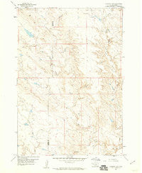 Fairpoint NW South Dakota Historical topographic map, 1:24000 scale, 7.5 X 7.5 Minute, Year 1959
