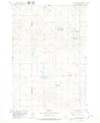 Feinstein Lake South Dakota Historical topographic map, 1:24000 scale, 7.5 X 7.5 Minute, Year 1978
