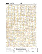 Fish Draw South Dakota Current topographic map, 1:24000 scale, 7.5 X 7.5 Minute, Year 2015 from South Dakota Map Store