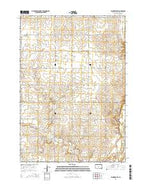 Flandreau SW South Dakota Current topographic map, 1:24000 scale, 7.5 X 7.5 Minute, Year 2015 from South Dakota Map Store