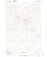 Flat Lake South Dakota Historical topographic map, 1:24000 scale, 7.5 X 7.5 Minute, Year 1978
