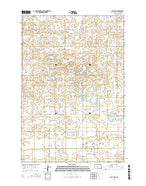 Flat Lake South Dakota Current topographic map, 1:24000 scale, 7.5 X 7.5 Minute, Year 2015 from South Dakota Map Store