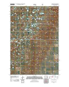 Forbes NW South Dakota Historical topographic map, 1:24000 scale, 7.5 X 7.5 Minute, Year 2011