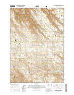 Fort George Butte NW South Dakota Current topographic map, 1:24000 scale, 7.5 X 7.5 Minute, Year 2015 from South Dakota Map Store