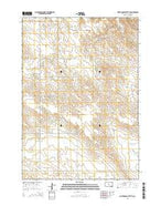 Fort George Butte SE South Dakota Current topographic map, 1:24000 scale, 7.5 X 7.5 Minute, Year 2015 from South Dakota Map Store