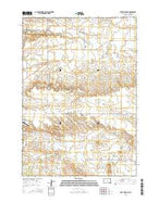 Fort Meade NE South Dakota Current topographic map, 1:24000 scale, 7.5 X 7.5 Minute, Year 2015 from South Dakota Map Store
