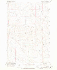 Greasewood Draw South Dakota Historical topographic map, 1:24000 scale, 7.5 X 7.5 Minute, Year 1977