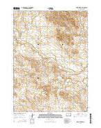Hidden Timber NE South Dakota Current topographic map, 1:24000 scale, 7.5 X 7.5 Minute, Year 2015 from South Dakota Map Store