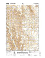 High Elk Hill SW South Dakota Current topographic map, 1:24000 scale, 7.5 X 7.5 Minute, Year 2015 from South Dakota Map Store