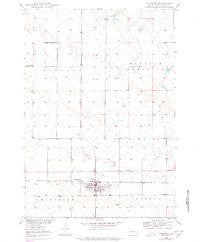 Highmore South Dakota Historical topographic map, 1:24000 scale, 7.5 X 7.5 Minute, Year 1950