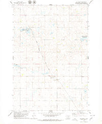 Hillsview South Dakota Historical topographic map, 1:24000 scale, 7.5 X 7.5 Minute, Year 1978