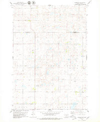 Hosmer SE South Dakota Historical topographic map, 1:24000 scale, 7.5 X 7.5 Minute, Year 1978