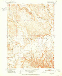 Imlay SW South Dakota Historical topographic map, 1:24000 scale, 7.5 X 7.5 Minute, Year 1950