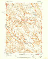Imlay South Dakota Historical topographic map, 1:24000 scale, 7.5 X 7.5 Minute, Year 1950