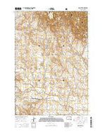 Irish Butte South Dakota Current topographic map, 1:24000 scale, 7.5 X 7.5 Minute, Year 2015 from South Dakota Map Store