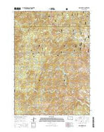 Iron Mountain South Dakota Current topographic map, 1:24000 scale, 7.5 X 7.5 Minute, Year 2015 from South Dakota Map Store
