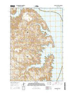 Iron Post Buttes South Dakota Current topographic map, 1:24000 scale, 7.5 X 7.5 Minute, Year 2015 from South Dakota Map Store
