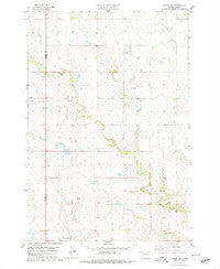 Isabel SW South Dakota Historical topographic map, 1:24000 scale, 7.5 X 7.5 Minute, Year 1978