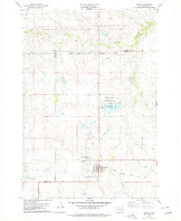Isabel South Dakota Historical topographic map, 1:24000 scale, 7.5 X 7.5 Minute, Year 1978
