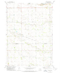 Kaylor South Dakota Historical topographic map, 1:24000 scale, 7.5 X 7.5 Minute, Year 1978