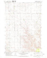 Kennebec SE South Dakota Historical topographic map, 1:24000 scale, 7.5 X 7.5 Minute, Year 1978