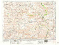McIntosh South Dakota Historical topographic map, 1:250000 scale, 1 X 2 Degree, Year 1958