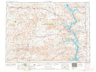 McIntosh South Dakota Historical topographic map, 1:250000 scale, 1 X 2 Degree, Year 1953