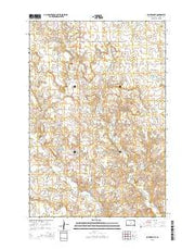 McIntosh SE South Dakota Current topographic map, 1:24000 scale, 7.5 X 7.5 Minute, Year 2015 from South Dakota Maps Store