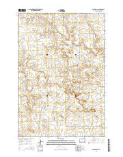McIntosh SW South Dakota Current topographic map, 1:24000 scale, 7.5 X 7.5 Minute, Year 2015 from South Dakota Maps Store