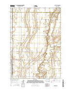 Mellette South Dakota Current topographic map, 1:24000 scale, 7.5 X 7.5 Minute, Year 2015 from South Dakota Map Store