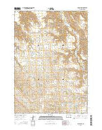 Middle Draw South Dakota Current topographic map, 1:24000 scale, 7.5 X 7.5 Minute, Year 2015 from South Dakota Map Store