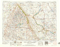 Milbank South Dakota Historical topographic map, 1:250000 scale, 1 X 2 Degree, Year 1958