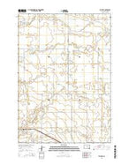 Miller SE South Dakota Current topographic map, 1:24000 scale, 7.5 X 7.5 Minute, Year 2015 from South Dakota Map Store
