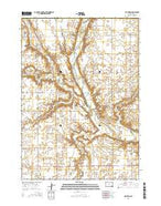 Milltown South Dakota Current topographic map, 1:24000 scale, 7.5 X 7.5 Minute, Year 2015 from South Dakota Map Store