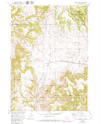Minnekahta South Dakota Historical topographic map, 1:24000 scale, 7.5 X 7.5 Minute, Year 1950