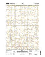 New Holland South Dakota Current topographic map, 1:24000 scale, 7.5 X 7.5 Minute, Year 2015 from South Dakota Map Store