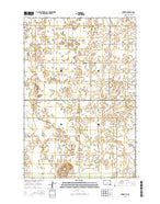 Newark South Dakota Current topographic map, 1:24000 scale, 7.5 X 7.5 Minute, Year 2015 from South Dakota Map Store