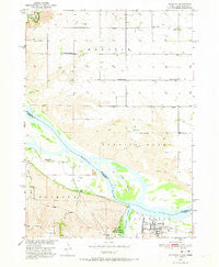 Niobrara Nebraska Historical topographic map, 1:24000 scale, 7.5 X 7.5 Minute, Year 1950