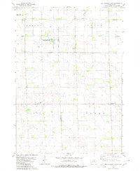 Old Stickney Lake South Dakota Historical topographic map, 1:24000 scale, 7.5 X 7.5 Minute, Year 1980