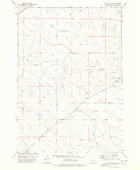 Owl Butte SE South Dakota Historical topographic map, 1:24000 scale, 7.5 X 7.5 Minute, Year 1977