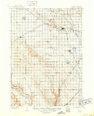 Parker South Dakota Historical topographic map, 1:125000 scale, 30 X 30 Minute, Year 1898