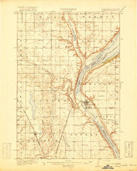 Peever Minnesota Historical topographic map, 1:62500 scale, 15 X 15 Minute, Year 1918