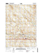 Presho South Dakota Current topographic map, 1:24000 scale, 7.5 X 7.5 Minute, Year 2015 from South Dakota Map Store