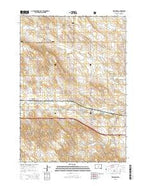 Presho NW South Dakota Current topographic map, 1:24000 scale, 7.5 X 7.5 Minute, Year 2015 from South Dakota Map Store