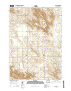 Presho SE South Dakota Current topographic map, 1:24000 scale, 7.5 X 7.5 Minute, Year 2015 from South Dakota Map Store