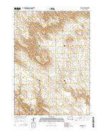 Presho SW South Dakota Current topographic map, 1:24000 scale, 7.5 X 7.5 Minute, Year 2015 from South Dakota Map Store