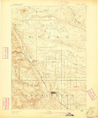 Rapid South Dakota Historical topographic map, 1:125000 scale, 30 X 30 Minute, Year 1893