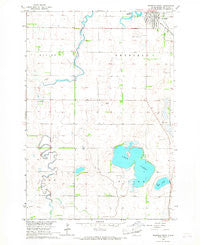 Redfield South South Dakota Historical topographic map, 1:24000 scale, 7.5 X 7.5 Minute, Year 1966