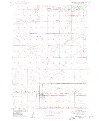 Ree Heights South Dakota Historical topographic map, 1:24000 scale, 7.5 X 7.5 Minute, Year 1950